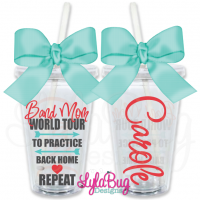 Band Mom World Tour Personalized Tumbler