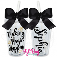 Making Magic Happen Personalized Tumbler