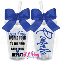Soccer Mom World Tour Personalized Tumbler