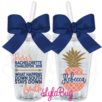 Stays Down South Bachelorette Tumbler