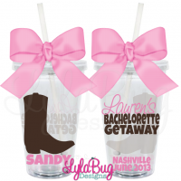 Country Girl Bachelorette Tumbler 1