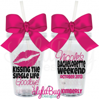 Kissing the Single Life Goodbye Tumbler
