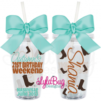 Country Girl Birthday Tumbler