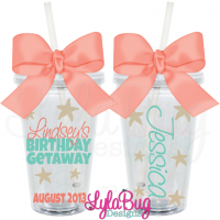 Starfish Birthday Tumbler
