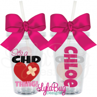 It's a CHD Thing Tumbler