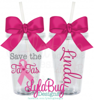 Save the Tatas Tumbler
