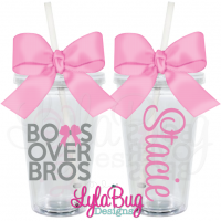 Bows Over Bros Tumbler