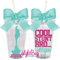 Cool Stunt Bro Cheer Tumbler