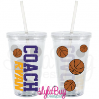 Basketball Coach Tumbler