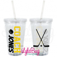 Hockey Coach Tumbler
