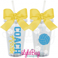 Volleyball Coach Tumbler