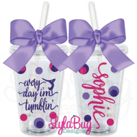 Every Day I'm Tumblin' Personalized Tumbler