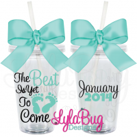 The Best is Yet to Come New Mom Tumbler