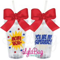 Mom Superhero Tumbler