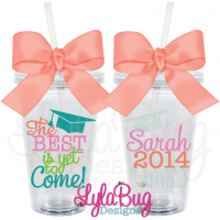 The Best is Yet Graduation Tumbler