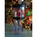 Santa's Little Helper Beer Tumbler