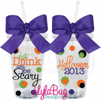 Eat, Drink, & Be Scary Tumbler