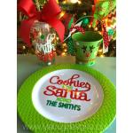 Santa's Milk & Cookie Set