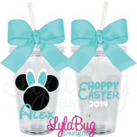 Mouse Easter Bunny Tumbler