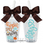 Pumpkin Spice Everything Nice Tumbler