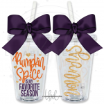 Pumpkin Spice is My Favorite Season Tumbler
