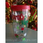 Santa's Little Helper Wine Tumbler