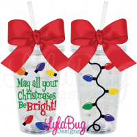 Christmas Lights Tumbler