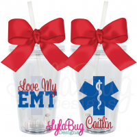 Love My EMT Tumbler