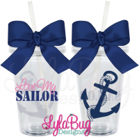 Love My Sailor Tumbler