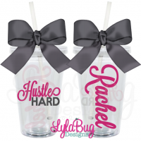HUSTLE HARD Tumbler