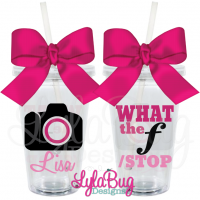 What the f/Stop Acrylic Tumbler