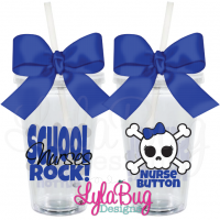 School Nurses Rock Tumbler