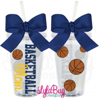 Basketball Mom Tumbler