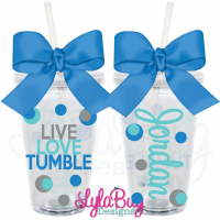 Live Love Tumble Personalized Acrylic Tumbler
