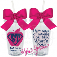 Speech Therapist Acrylic Tumbler