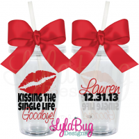 Kissing the Single Life Goodbye Tumbler 1