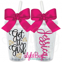 Get It Girl Personalized Tumbler