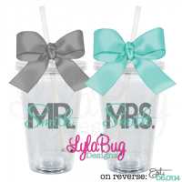 Mr & Mrs Tumbler Set