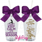 I Can't Keep Calm It's Competition Season Tumbler