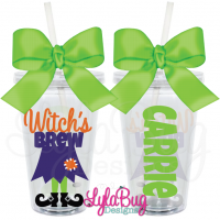 Prom Dress Personalized Acrylic Tumbler