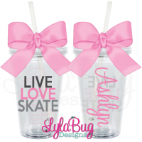 Hope Fight Cure Thyroid Personalized Acrylic Tumbler
