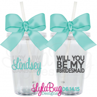 Be My Bridesmaid Tumbler