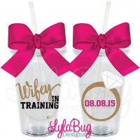 WIFEY IN TRAINING Tumbler
